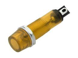Žiarovka NEON 6mm žltá 230V