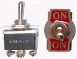 Prepínač páčkový KN3(C)-202 veľký 6pin