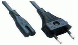 Kábel napájací čierny 1,8m FLEXO  CE