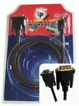 Kábel DVI - VGA (15pin) 1,8m