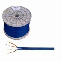 Kábel tienený 2x4mm-modrý (100m)