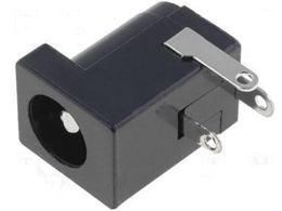 DC konektor zásuv 2,5/5,5 do DPS