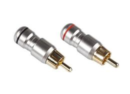 Konektor RCA zástrč. kov HD-287