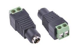 DC konektor zásuv. 2,1/5,5 s rýchlospojkou