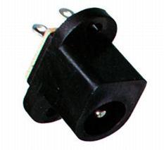 DC konektor zásuv. 2,1/5,5 do DPS