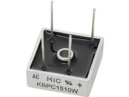 Usmer. mostík 15A/1000V (KBPC1510W)