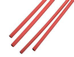 Zmršťovacie bužírky 8,0mm červené 1m (10ks)