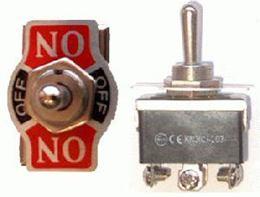 Prepínač páčkový KN3(C)-203 veľký 6pin