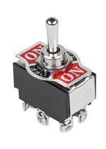 Prepínač páčkový KN3(B)-223 6pin vrátny