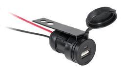 Zásuvka nabíjania USB montážna 12V/24V