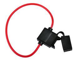 Púzdro autopoistkové (20mm) 2,5mm s káblom 30cm
