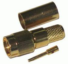 Konektor SMA-RP pozlátený H155 dut.