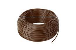 Kábel CYA 1x1,5 hnedý (H07V-K) lanko (100m)