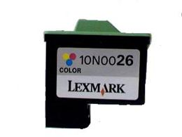 Cartridge Lexmark no.26 (10N0026) color kompatibilný