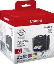 Cartridge Canon PGI-2500 XL, CMYK, štvorbalenie, multipack, originál