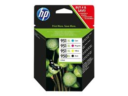 Cartridge HP 950XL / HP 951XL Combo Pack (C2P43AE) - originál