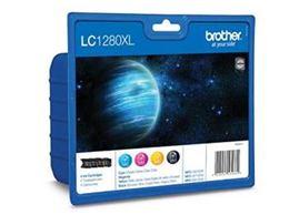 Cartridge Brother LC1280XLVALBP BK/C/M/Y Pack - originálny