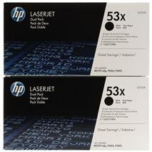 Toner HP Q7553XD black (2 pack) - originál