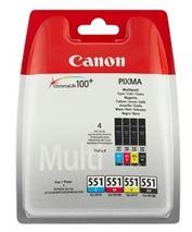 Cartridge Multipack Canon CLI-551 C/M/Y/Bk - originál