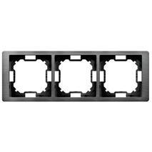 Rámik trojnásobný Simon Basic NEOS titánový