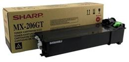 Toner Sharp MX-206GT, čierna (black), originál