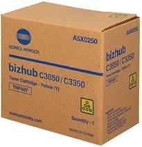 Toner MINOLTA TNP48Y Bizhub C3350/C3850 (A5X0250) yellow - originál (10 000 str.)
