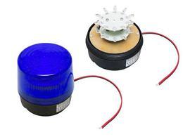 Signalizátor LED 12V modrý