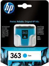 Cartridge HP 363 (C8771EE), azúrová (cyan), originál