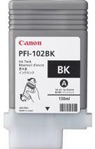 Cartridge Canon PFI-102BK, čierna (black), originál