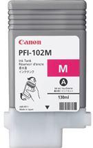 Cartridge Canon PFI-102M, purpurová (magenta), originál