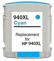 Cartridge HP 940XL (C4907AE) cyan - kompatibilný