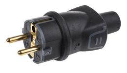 Sieť. zástrčka gumová LEGRAND 250V IP44