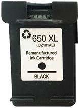 Cartridge HP 650XL (CZ101AE) black - kompatibilný
