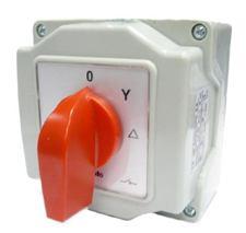 Vačkový prepínač  0-Y-A  25A 8444