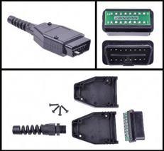 Konektor OBD II na doske 66.5 x 40mm