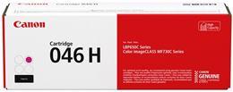 Toner Canon 046H M, CRG-046H M, purpurová (magenta), originál