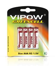 Bateria WIPOV GREENCELL R03 (4ks)