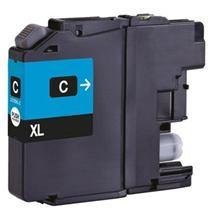 Cartridge Brother LC225XLC, azúrová (cyan), kompatibilný