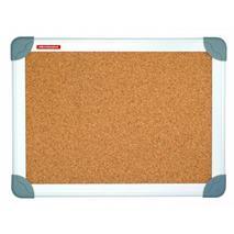 Korková tabuľa, 80x120 cm, hliníkový rám, FUTURE