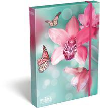 Box na zošity A4, GEO FLORA Orchidea