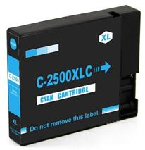 Cartridge Canon PGI-2500C XL, azúrová (cyan), alternatívny