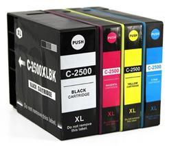 Cartridge Canon PGI-2500 XL, CMYK, štvorbalenie, multipack, alternatívny
