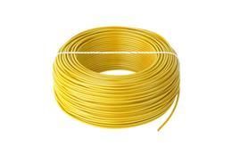 Kábel CYA 1x0,5 žltý (H05V-K) lanko (100m)