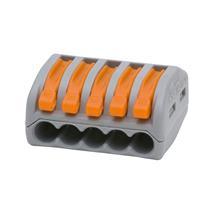 Krabicová svorka s páčkou 222-415 (WAGO) 5x 0,08-2,5 (4,0) mm2