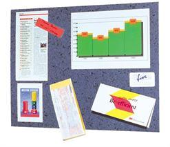 Post-it odkazová tabuľa, 46x58cm, korok, modrá