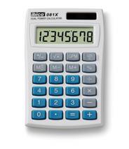 """Kalkulačka, vrecková,  8 miestny displej, IBICO \""""081X"""