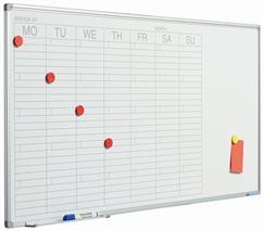 Plánovacia tabuľa týždenná  60x120 cm