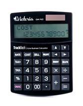 """Stolová kalkulačka, 12 miestny displej, 2 radová, VICTORIA \""""GVA-7422\"""", čierna"""