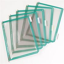 Prezentačná tabuľa, A3, plastová, TARIFOLD, zelená
