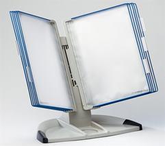 Držiak na prezetačné tabule, stolový, A4, 10 ks prezentačných tabuľ, TARIFOLD Design